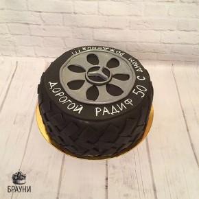 №252 Торт колесо