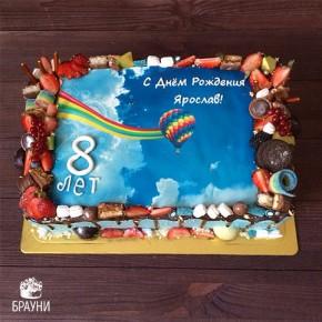 №350 Торт радуга