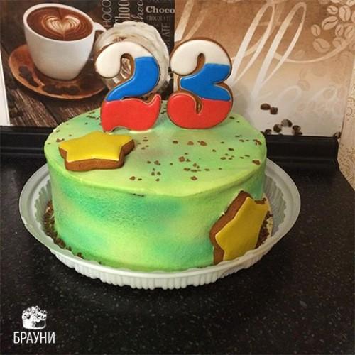 №317 Торт на 23 февраля