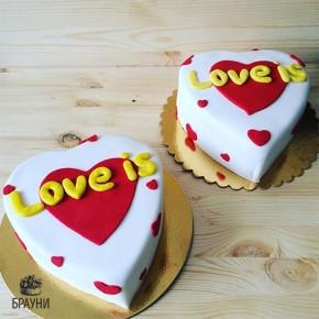 №291 Торт Love is