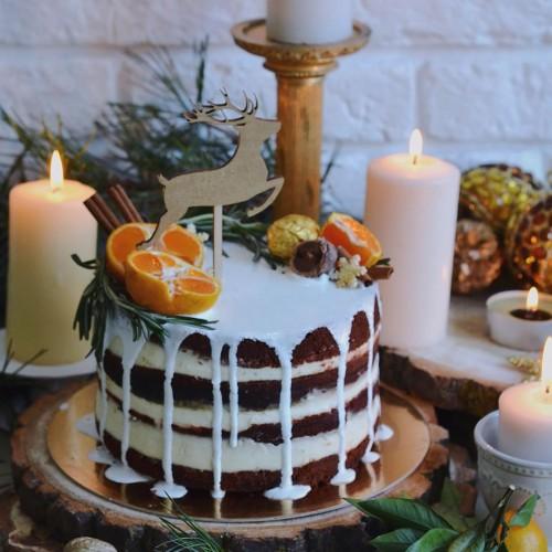 №162 Новогодний торт