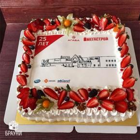 №348 Торт корпоративный