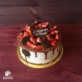 №342 Торт с ягодами