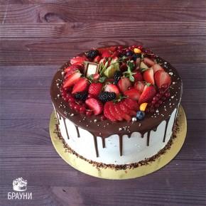 №357 Торт с ягодами