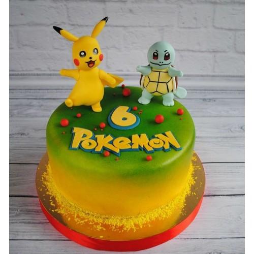 №471 Торт покемон 6 лет