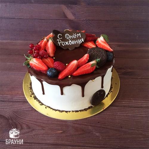 №355 Торт с ягодами
