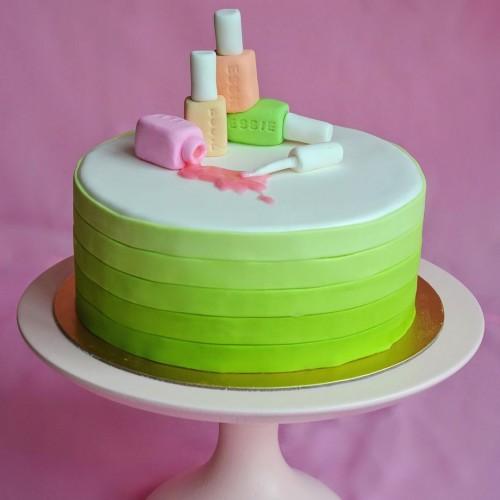 №158 Торт Лак для ногтей