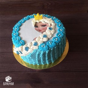 №325 Торт Эльза