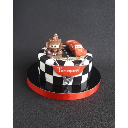 №490 Торт тачки для мальчика