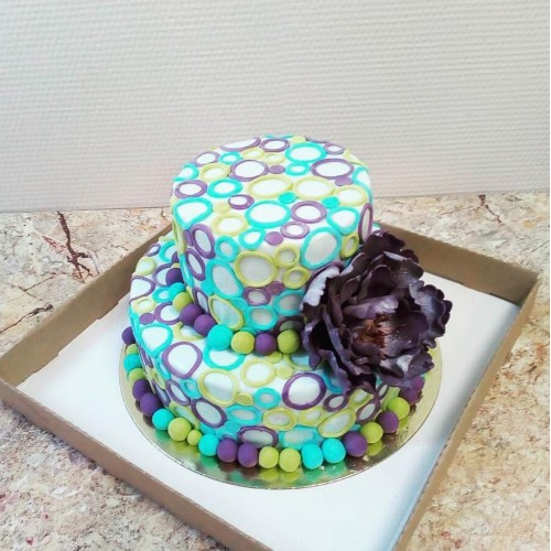 №420 Оригинальны торт для свадьбы