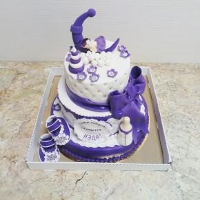 №422 Торт детский двухъярусный