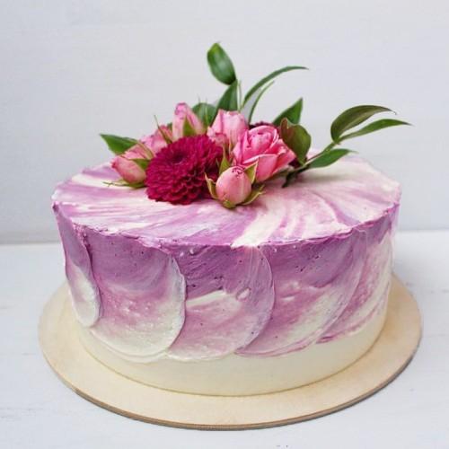 №245 Торт с цветами