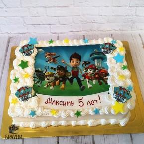 №251 Торт с фотопечатью