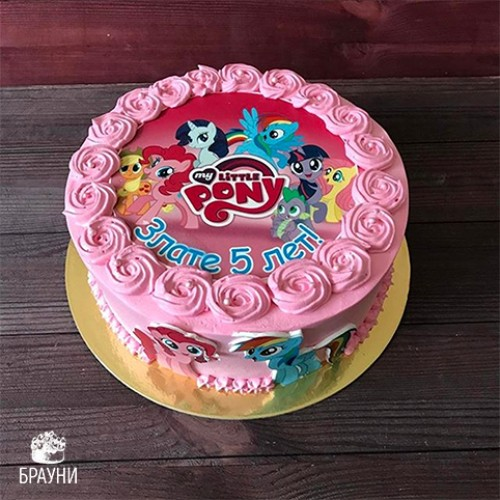 №389 Торт пони