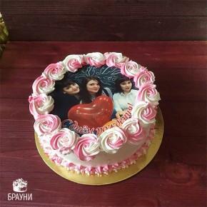 №331 Торт с фотопечатью