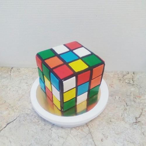 №441 Торт кубик-рубик